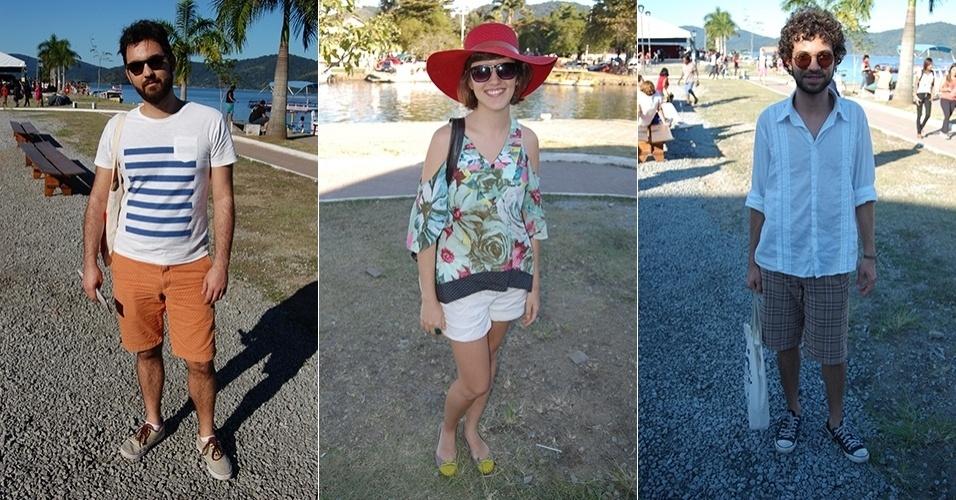 f23c7a5ef Público intelectual da Flip mistura moda praia e looks casuais no evento