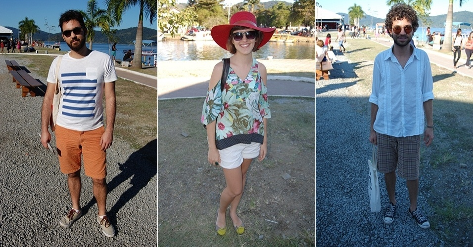 113fc1007 Público intelectual da Flip mistura moda praia e looks casuais no evento