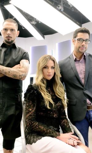 """""""Desafio de Beleza"""" ganha, em sua terceira temporada, no GNT, nova apresentadora: a modelo Mariana Weickert."""
