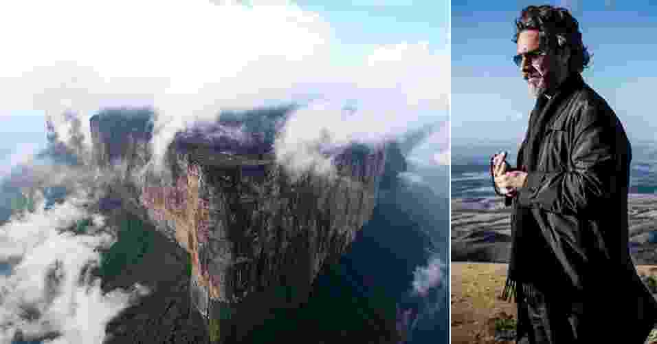 """Quem acompanha a novela """"Império"""", da TV Globo, certamente não deixou de notar a presença do monte Roraima como parte fundamental da trama - Marcelo Seixas/Roraima Adventures - Divulgação Rede Globo"""