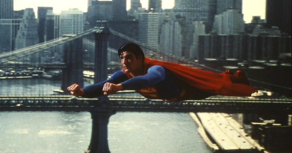 """Cena do filme """"Super-Homem"""" (1978)"""