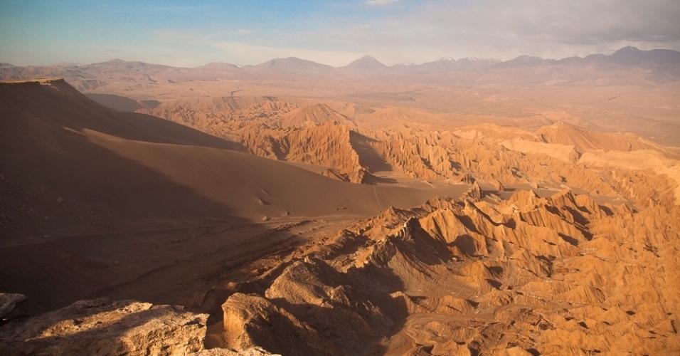 Região do deserto do Atacama é uma das mais secas do mundo, no Chile