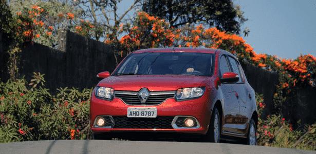Renault Sandero Dynamique 1.6 2015 - Murilo Góes/UOL - Murilo Góes/UOL