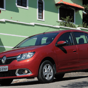Renault Sandero Dynamique 1.6 2015 - Murilo Góes/UOL