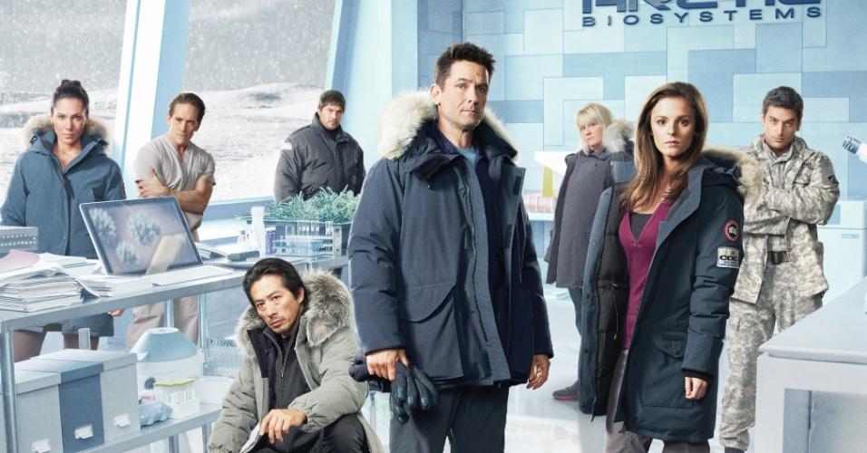 """6.ago.2014 - """"Helix"""", série exibida pela AXN a partir de 8 de agosto, é um suspense que mostra uma equipe de cientistas buscando respostas para o surto de uma doença misteriosa"""