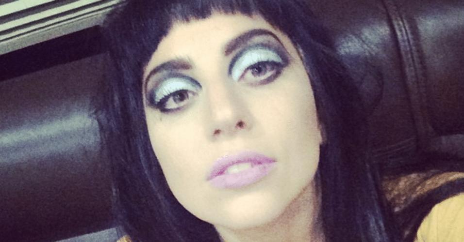 6.ago.2014 - Lady Gaga declara seu amor aos fãs através do Instagram, na madrugada desta quarta-feira