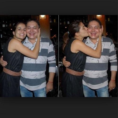 """6.ago.2014 - Nivea Stelmann usou uma montagem de fotos com Glaycon Muniz para se despedir do amigo. """"Foram muitos anos de amizade e carinho. Que Deus te receba com amor amigo querido"""", escreveu a atriz"""