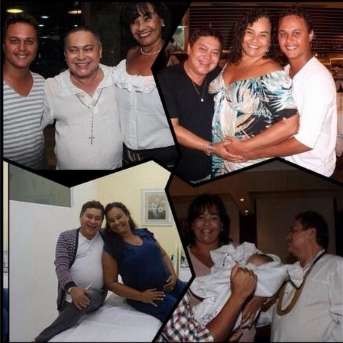 """6.ago.2014 - Solange Couto lembrou diferentes momentos da vida ao lado do promoter Glaycon Muniz. """"Acordo recebendo a notícia que você GLAYCON MUNIZ nos deixou. Deixo aqui minha homenagem e saudades de um amigo de tantos anos e momentos de vida. Lembrarei sempre de sua alegria e peço a DEUS que te receba de braços abertos. Descanse em paz! #Luto"""", escreveu a atriz"""