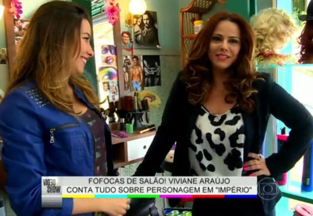 6.ago.2014 - Viviane Araújo fala sobre a emoção de estar em