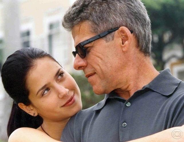 Anita (Mel Lisboa) e Fernando (José Mayer)