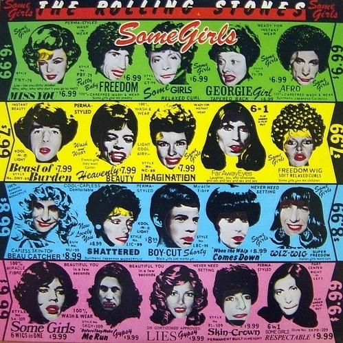 "Capa do álbum ""Some Girls"" do The Rolling Stones"