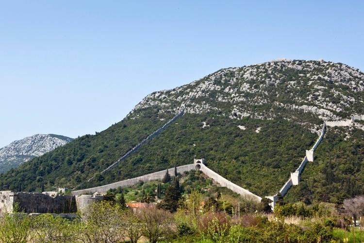 Muralhas de Ston - Croácia
