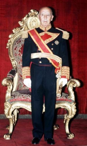 O general Franciso Franco