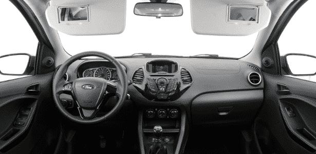 Ford Ka+ 2 - Murilo Góes/UOL - Murilo Góes/UOL
