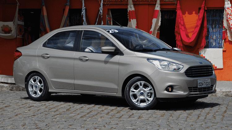 Ford Ka Sedan - Murilo Góes/UOL - Murilo Góes/UOL
