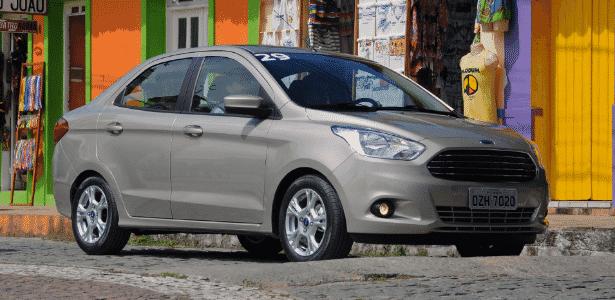 Ford Ka+ chega para fazer a Ford crescer no segmento de sedãs compactos - Murilo Góes/UOL