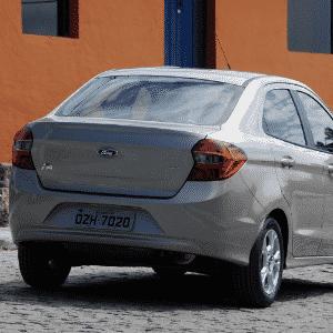 Ford Ka+ SEL 1.5 2015 - Murilo Góes/UOL