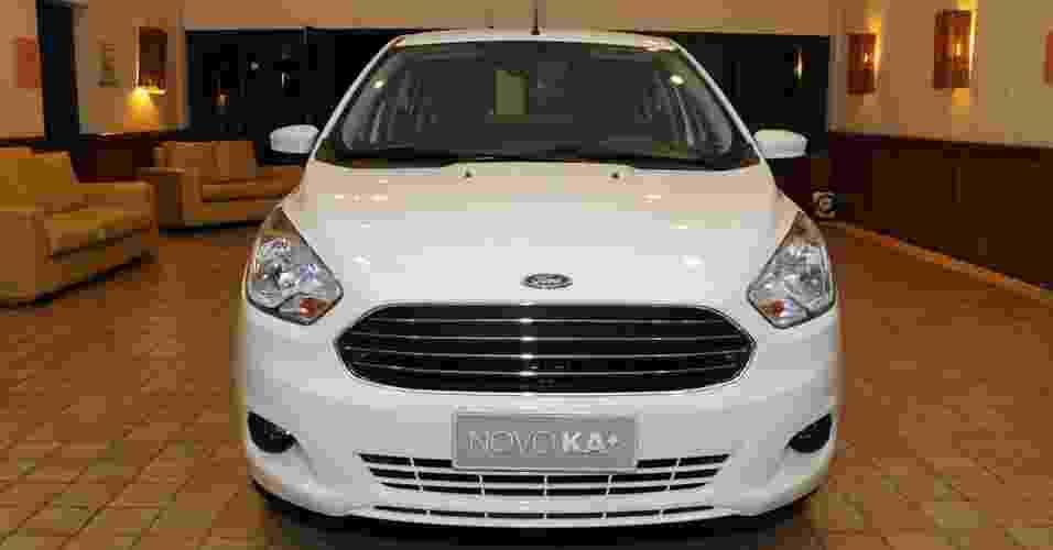 Ford Ka+ é revelado na Bahia - Murilo Góes/UOL