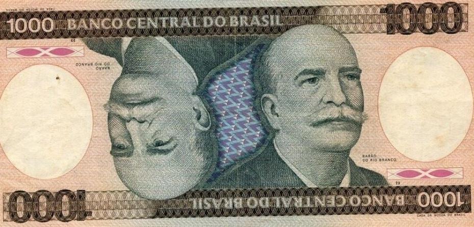 O Cruzeiro foi a moeda brasileira que circulou de maio de 1970 a fevereiro de 1986. Em 1978, a cédula de mil cruzeiros foi lançada e sua inspiração teria sido nas cartas de baralho