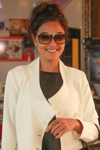 08.ago.2014 - Juliana Paes chega ao Palácio dos Festivais, em Gramado. Ela está no filme