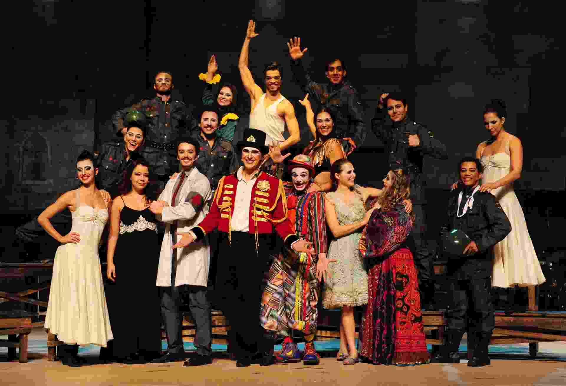 """8.ago.2014 - Musical """"O Grande Circo Místico"""" estreia no próximo dia 14 - Junior Lago/UOL"""