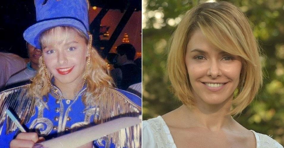 """Bianca Rinaldi, ou Xiquita Bibi, entrou no lugar de Andreia Sorvetão na 2ª Geração das Paquitas, no """"Xou da Xuxa"""", na Globo"""
