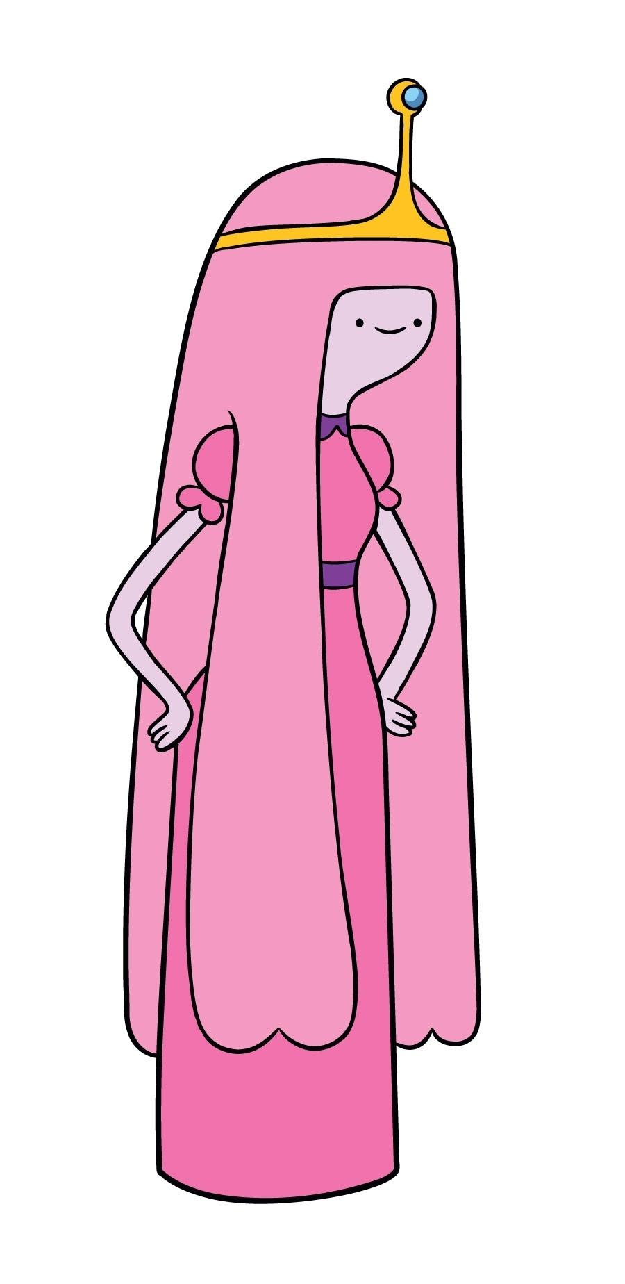 """Em """"Hora de Aventura"""", a princesa Jujuba governa o Reino Doces e é a paixão de Finn"""