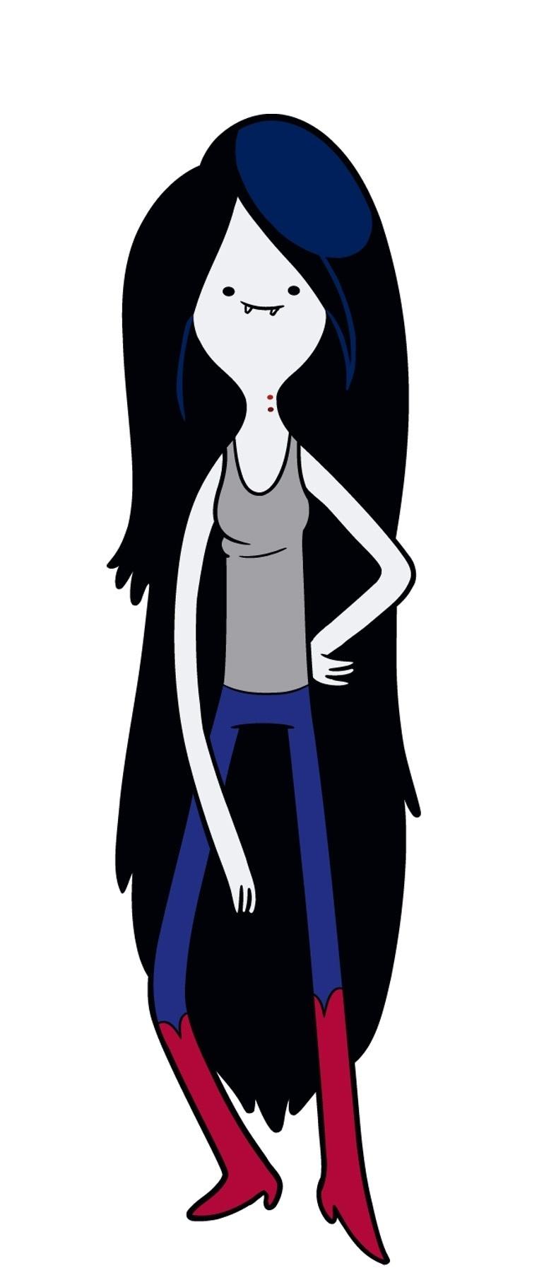 """Em """"Hora de Aventura"""", a vampira Marceline é uma das principais personagens"""
