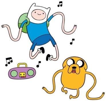 """Em """"Hora de Aventura"""", Finn é um menino de 12 anos que vive na Terra de Ooo com seu grande amigo Jake, um cão amarelo"""