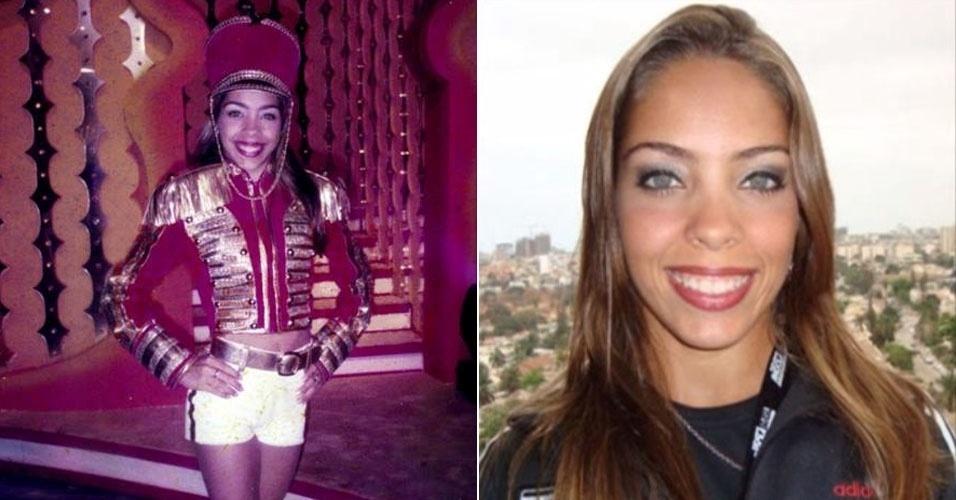 """Gabriella Ferreira, a Paquita perua, fez parte da 4ª e última fase das Paquitas, a """"Geração 2000"""", no """"Planeta Xuxa"""", na Globo"""