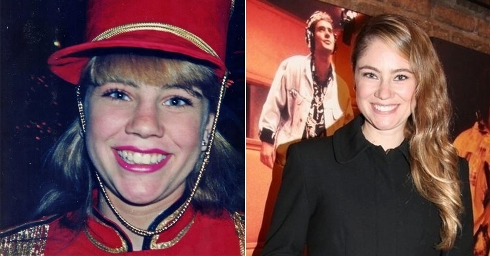 """Juliana Baroni, a Catuxa Jujuba, entrou no lugar de Ana Paula Guimarães, na 2ª Geração de Paquitas do """"Xou da Xuxa, na Globo"""
