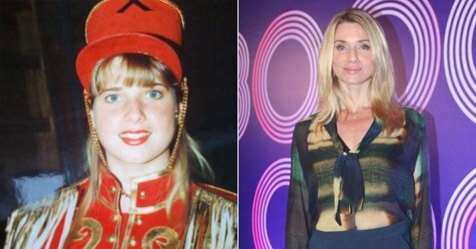 """Letícia Spiller, ou Pituxa Pastel, fez parte da 2ª Geração das Paquitas, no """"Xou da Xuxa"""", na Globo"""