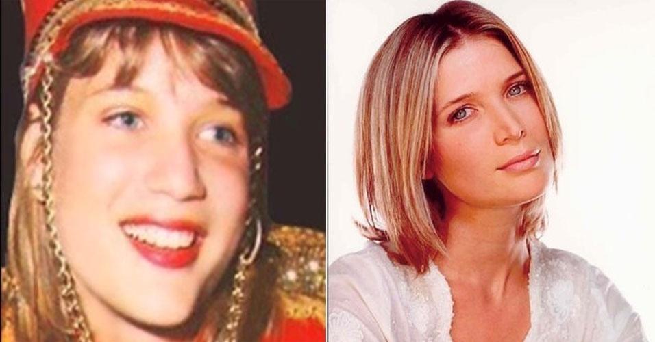 """Louise Wischermann, apelidada de Pituxa Alemã, fez parte da 1ª Geração das Paquitas, no """"Xou da Xuxa"""", na Globo"""