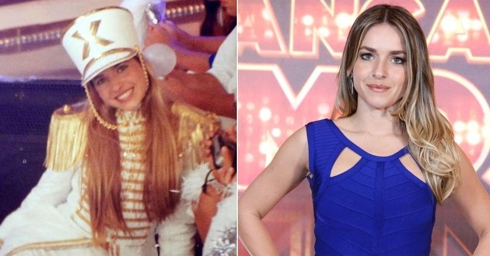 """Monique Alfradique era conhecida como Pastelzinho na 4ª e última fase das Paquitas, a """"Geração 2000"""", no """"Planeta Xuxa"""", na Globo"""