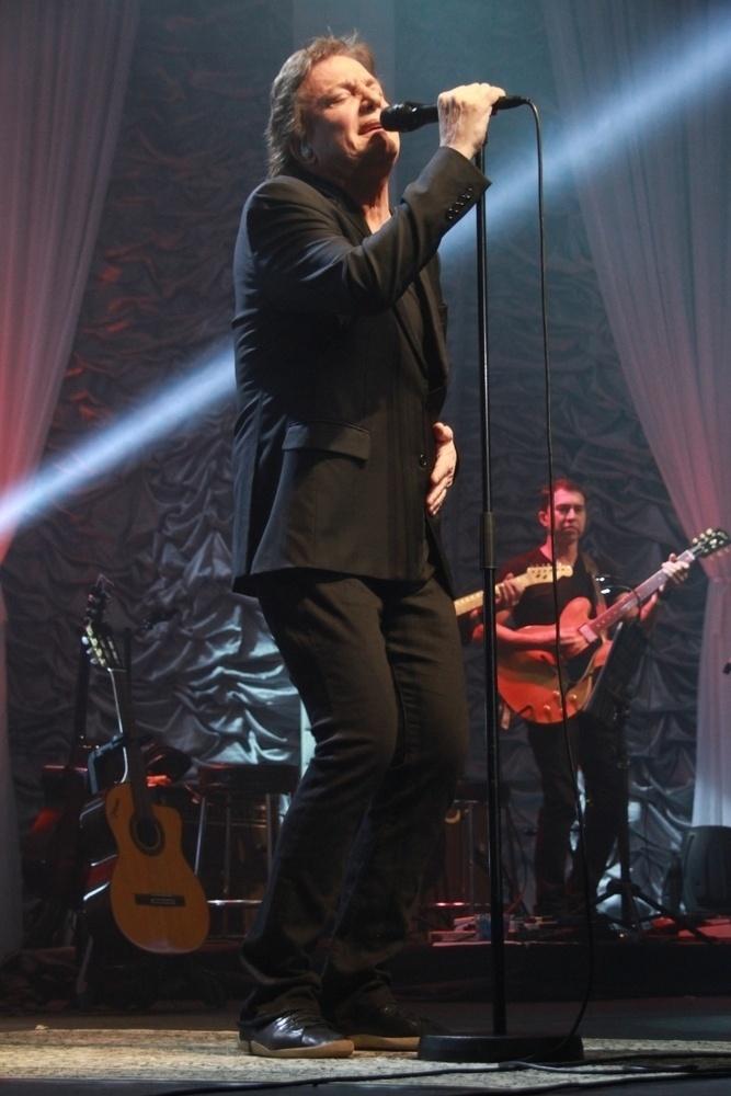 8.ago.2014 - Fabio Jr. lota o Citibank Hall, na Barra da Tijuca, zona oeste do Rio de Janeiro, para apresentar seu novo show na noite desta sexta-feira