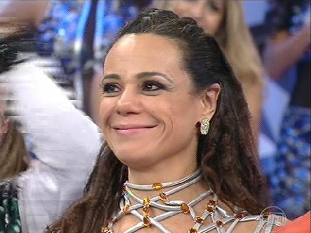"""10.ago.2014 - Vanessa Gerbelli vai para a repescagem com votos do júri artístico e da plateia do """"Dança dos Famosos"""""""
