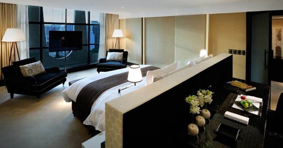 A melhor suíte brasileira eleita pelo World Travel Awards foi a do hotel Tivoli Mofarrej, em São Paulo