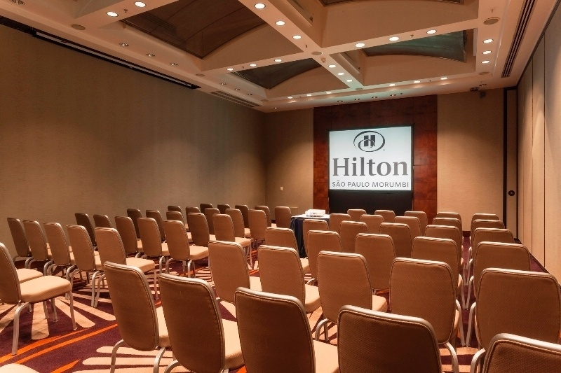 Hilton Morumbi, em São Paulo. O estabelecimento da capital paulista ficou com o prêmio de Melhor Hotel Business do país