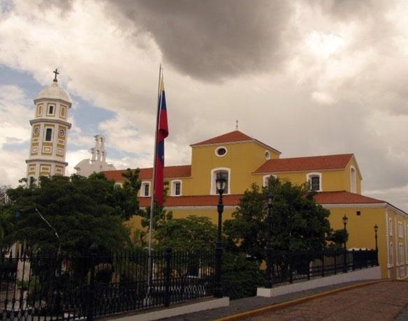 Centro histórico de Ciudad Bolivar, ponto de partida para Canaima