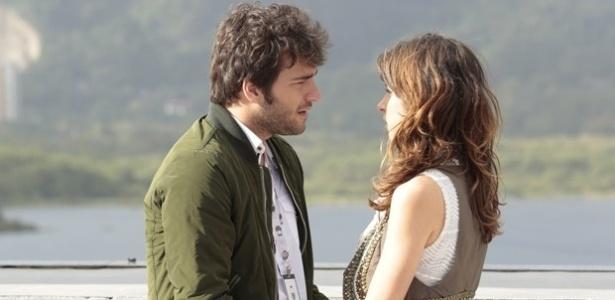 """Em """"Geração Brasil"""", Davi descobre mentira e termina namoro com Manu"""