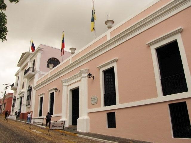 Palácio do governo de Ciudad Bolívar