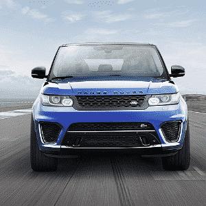 Range Rover Sport SVR - Divulgação