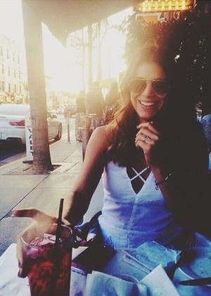 A atriz Bruna Marquezine, em Los Angeles
