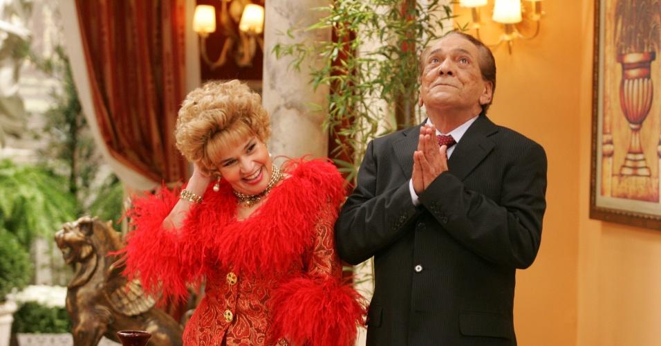Ainda em 1999, Claudia Rodrigues viveu Ofélia e Lúcio Mauro, Fernandinho