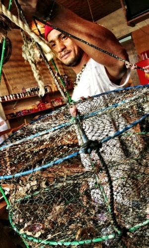 As vieiras vendidas na Vila Picinguaba, em Ubatuba, são cultivadas pelos moradores locais e vendidas a R$ 45 a dúzia