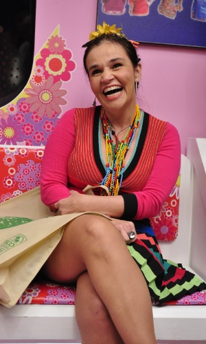 "Claudia Rodrigues viveu Sirene no ""Zorra Total"""