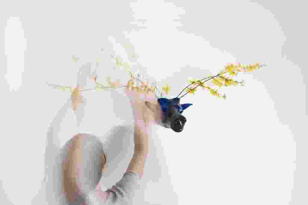 Os designers da Agnieszka Bar (agnieszkabar.pl) desenvolveram a escultura/ vaso My Dear. Feito artesanalmente através de da técnica do vidro soprado, o objeto convida a compor arranjos lúdicos com plantas frescas - Divulgação