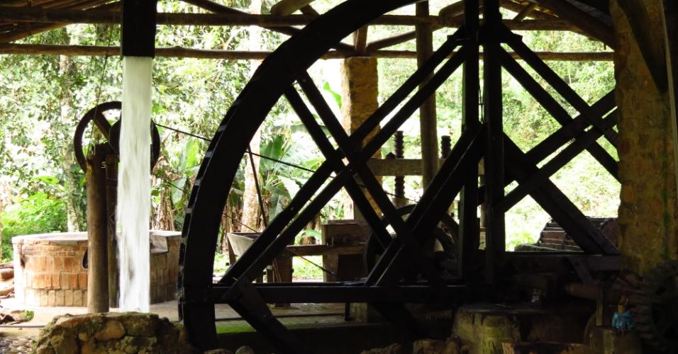 Parte do Núcleo Picinguaba, em Ubatuba, o Quilombo da Fazenda abriga 130 moradores afrodescedentes e ocupa a área de uma antiga fazenda de escravos. No lugar, ainda funciona (hoje em benefício dos quilombolas) uma casa de farinha movida a roda d'água do século 19