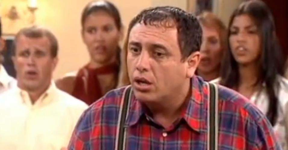 """Pedro Bismark viveu Nerso da Capitinga no """"Zorra Total"""" de 2001"""