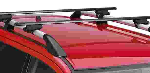 Rack de teto, de série na LTZ top, é opção para levar ainda mais carga e/ou bicicletas - Divulgação - Divulgação